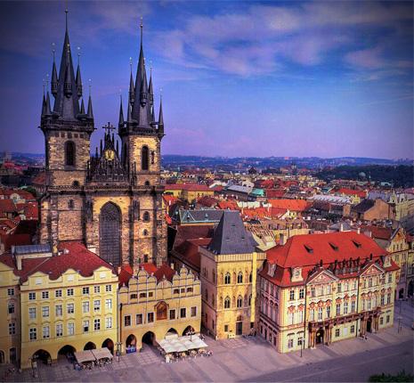 Vuelos Praga: La Iglesia de Nuestra Señora de Týn.