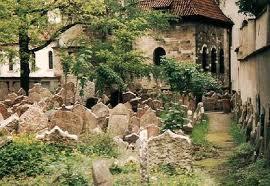 Una de las vistas del Cementerio Judío de Praga